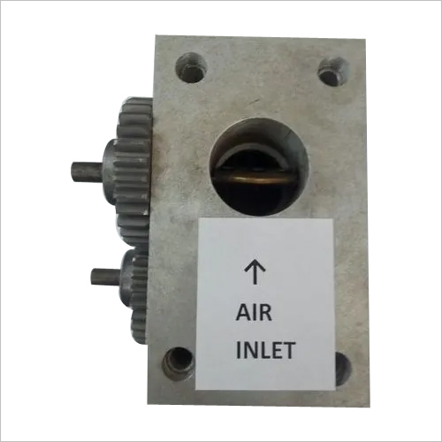 Air Gas Mixer With Throttle Valves