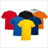Mens Round Neck Plain T Shirts