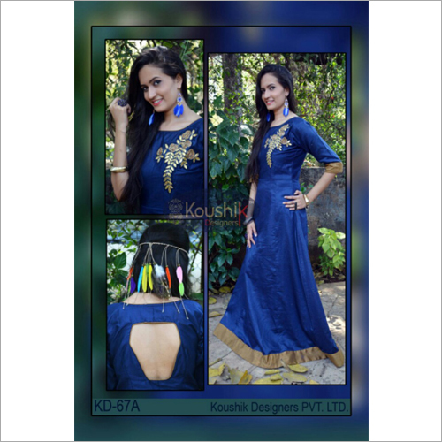 Designer Floor Length Gown