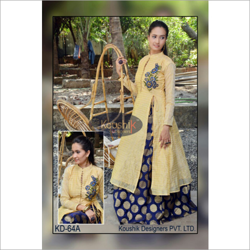 Designer Cape Top and Skirt