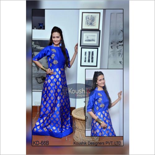 Modern Ladies Floor Length Gown