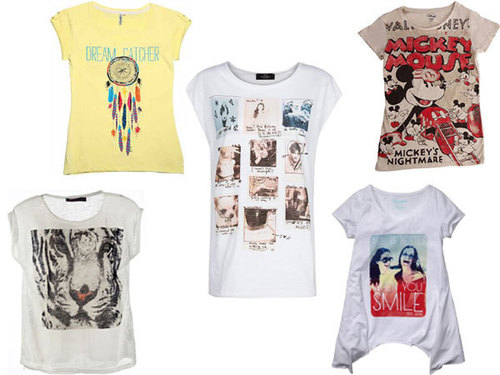 Mens Graphic T Shirts