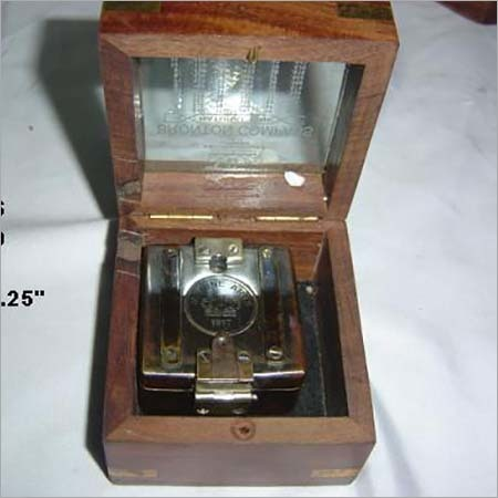 Brompton Compass with Wooden Box
