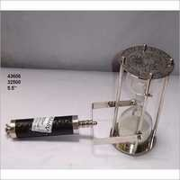 Aluminum and Glass Sand Timer
