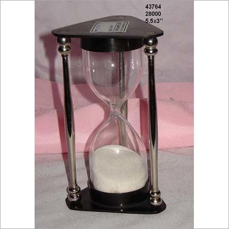 Iron and Glass Sand Timer