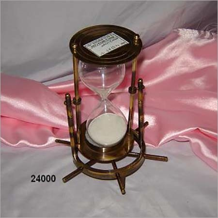 Nautical Brass Sand Timer