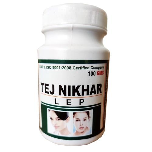 Ayurvedic Powder For Fairness OF Face-Tej Nikhar Powder