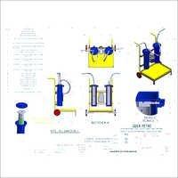 Hydraulic Oil Fluid Filter Unit