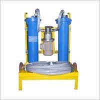 Online Hydraulic Oil Fluid Filter Unit