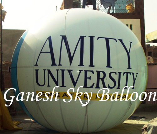Ad Of Amity Univesity On Sky Balloon