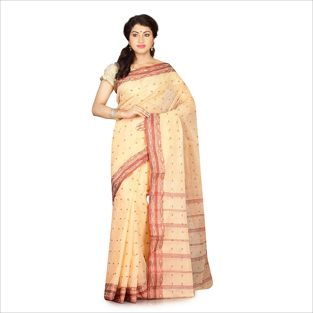 Cotton Blouse Saree