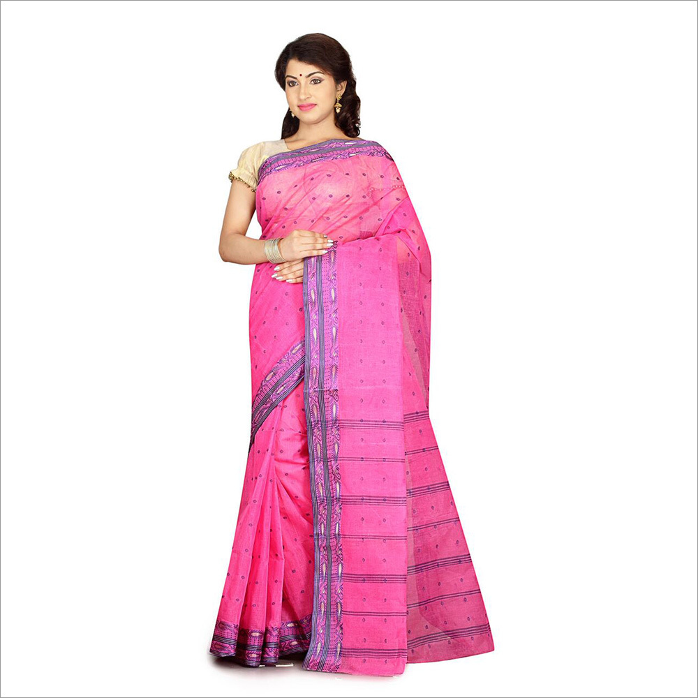 Ladies Pink Color Saree