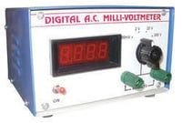 Ac Millivoltmeter Analogue