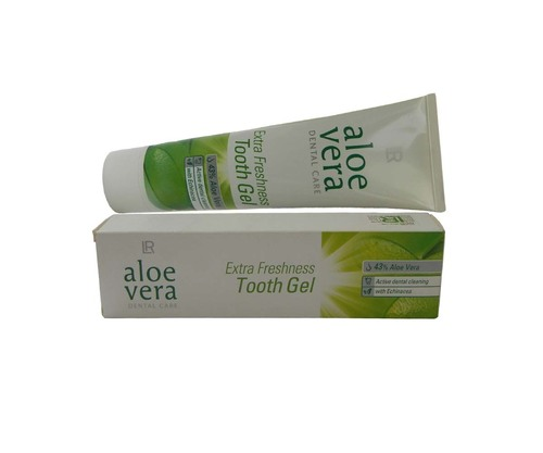 Lr Alovera Extra Frsehness Tooth Gel With Active Dental Cleaning For White Teeth 100ml