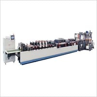 Three Side Sealing Zipper Bag Making Machine