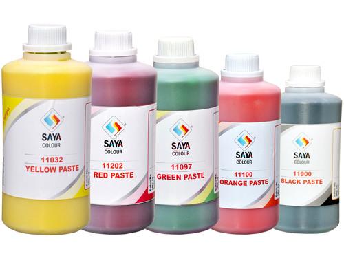 Pigment Paste For Paint & Latex