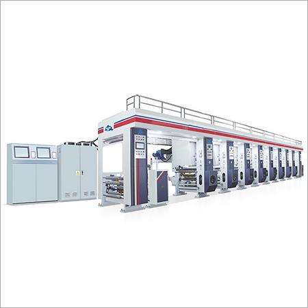 Automatic Gravure Printing Machine