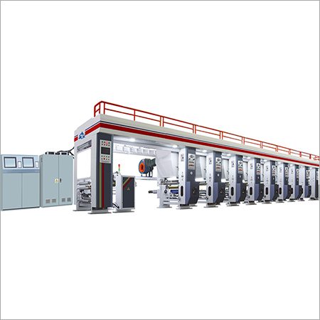 7 Motors Gravure Printing Machine