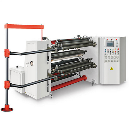 High Speed Slitting & Rewinding Machine
