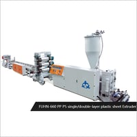 Single & Double Layer Plastic Sheet Extruder