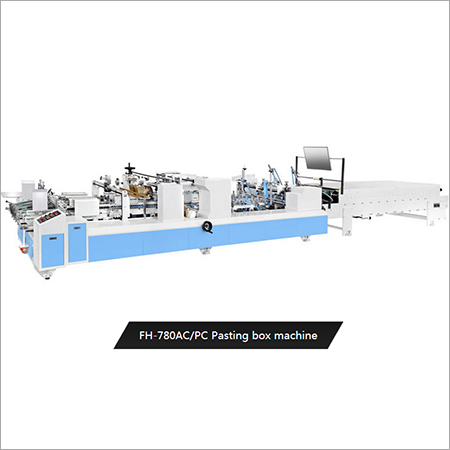 Pasting Box Machine