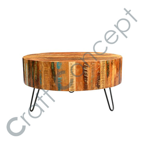 RECLAIM WOOD STOOL