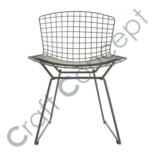 SILVER METAL CHAIR