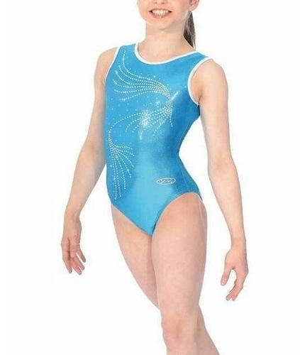 Blue Leotard Body Sutt