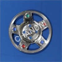 Wheel Cap KUMKUM WITH STONE for Bajaj RE