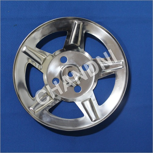 Tyre Wheel cap KUMKUM for Bajaj Auto Rickshow