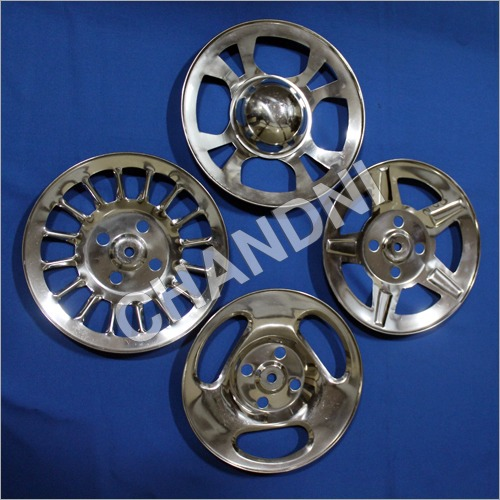 Stainless Steel Wheel Cap