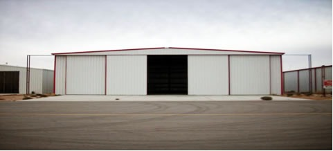 Aircraft Hangar Sliding Door
