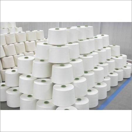 Polyester Spun Grey Yarn