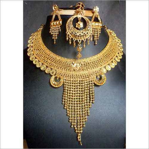 Partywear Gold Plated Necklace