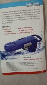 Smart Bucket wash Machine