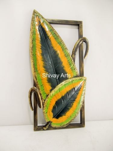 Contemporary Designer Leaf Wall Decor Wall Hanging Wall Mural Wall Sculpture
