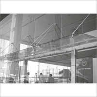 Contemporary Frameless Glass Canopy Systems