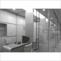 Heavy Duty Sliding System for Frameless Glass with Adjacent Fixed Glass