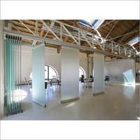 Glass Folding Stacking Partition
