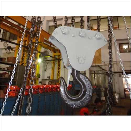Non Sparkling Pulley Chain Block