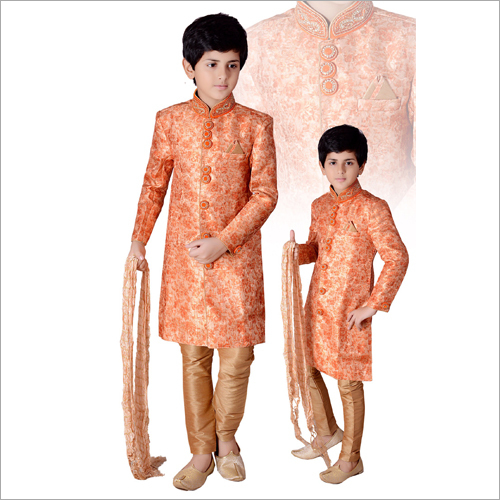 Boys Embroided Sherwani