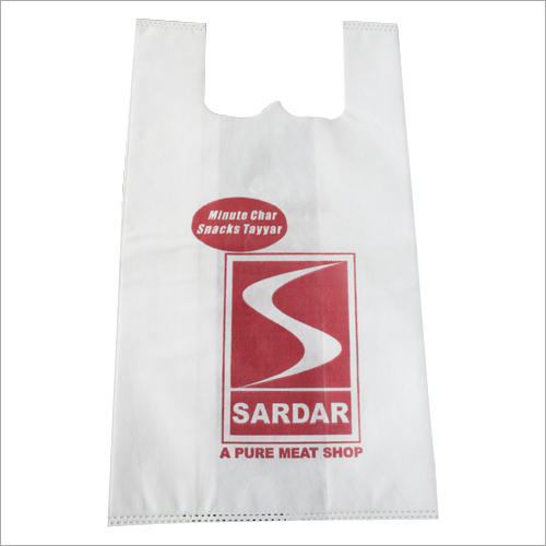 W Cut Non Woven Carry Bag