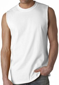 Plain Sleeveless T Shirts
