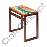 GLASS WAY WOOD CONSOLE