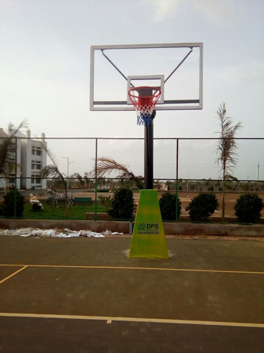 Fixed Basketball Pole