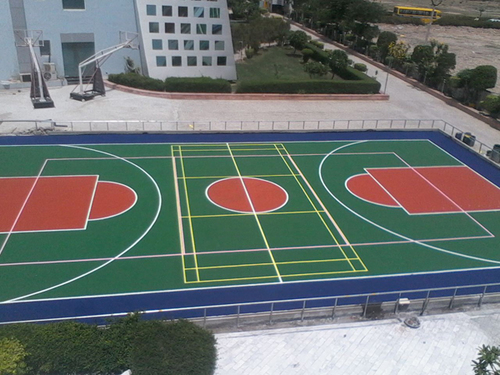 Basketball Synthetic Flooring