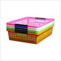 Plastic Handy Fruit & Vegetable Basket
