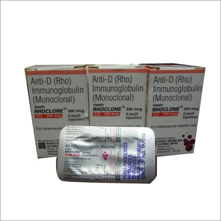 Rhoclone 300mcg Injections