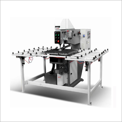 Semi Automatic Glass Drilling Machine