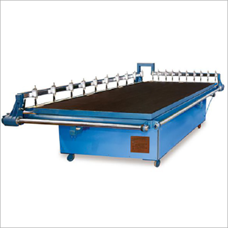 JFQG 2620 Manual Double Bridge Cutting Table